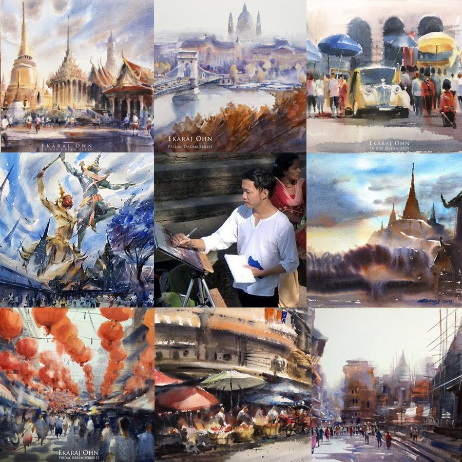 Ekaraj Ohn – Ekaraj's watercolor and arts